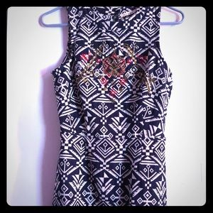 Miami backless dress size Small